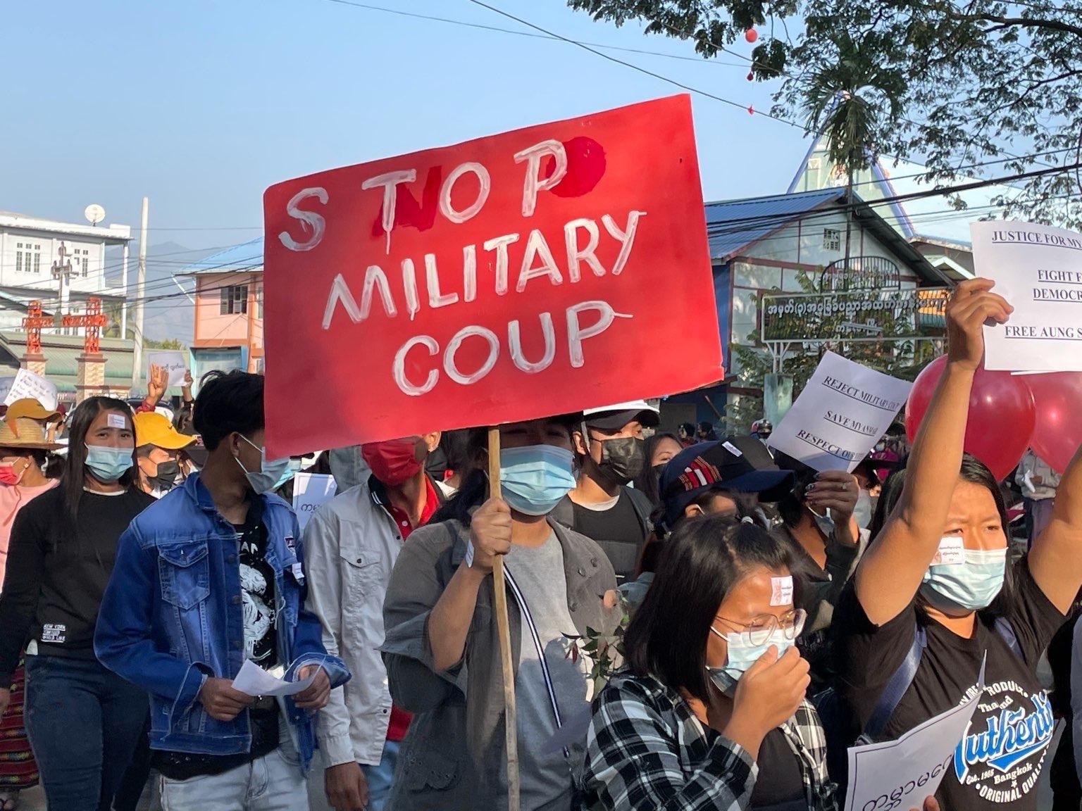 bilde av demonstrasjon