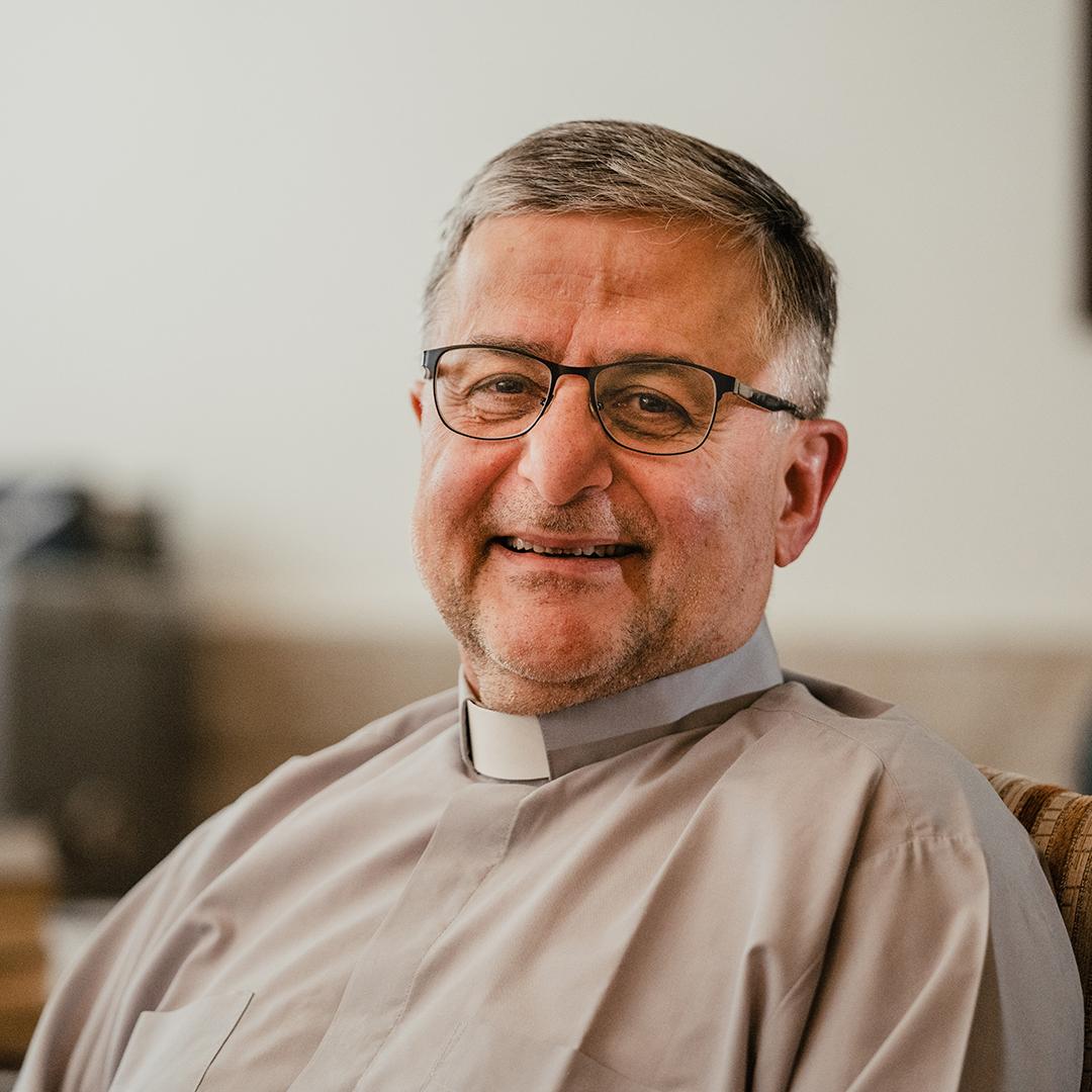 Pastor Edward fra Alliance Church Damascus
