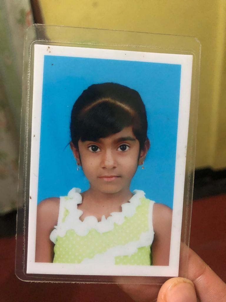 Eliza (6), datteren til Verlini som ble skadet i angrepet.