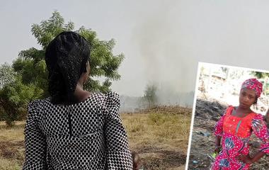 Hannatu Ezra (venstre) og hennes familie forsvant inn i Sambisa-skogen, der de ble holdt fanget i over to år. Siden har hun ikke hatt tid til å bearbeide traumene og sørge. Leah Sharibu (høyre).
