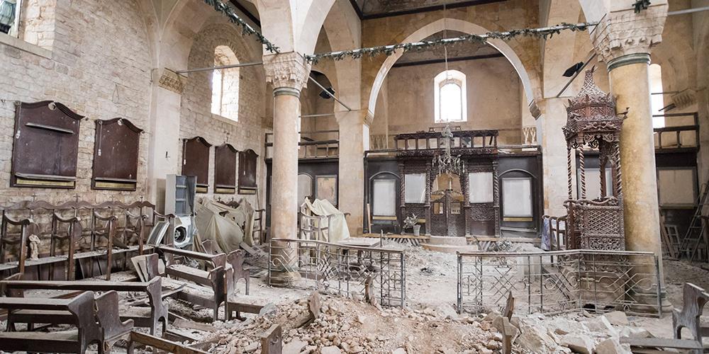SYRIA: De som velger å følge Jesus betaler ofte en høy pris i form av forfølgelse eller utstøtelse av familien, men de gjør det like fullt, skriver Ole Petter Erlandsen. På bildet ser vi ruinene av the Greek Orthodox church i Aleppo.