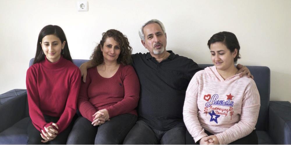 Skriv til Taher og familien