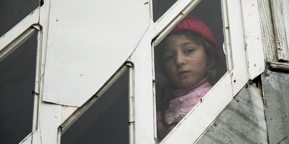 En flicka från den kaukasiska folkgruppen Xinaliq i norra Azerbajdzjan (foto: IMB.ORG).