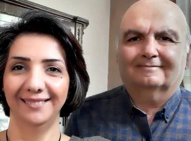 Sara Ahmadi och Homayoun Zhayeh har överklagat sina fängelsetraff på åtta respektive två år (Foto: Artcle 18).
