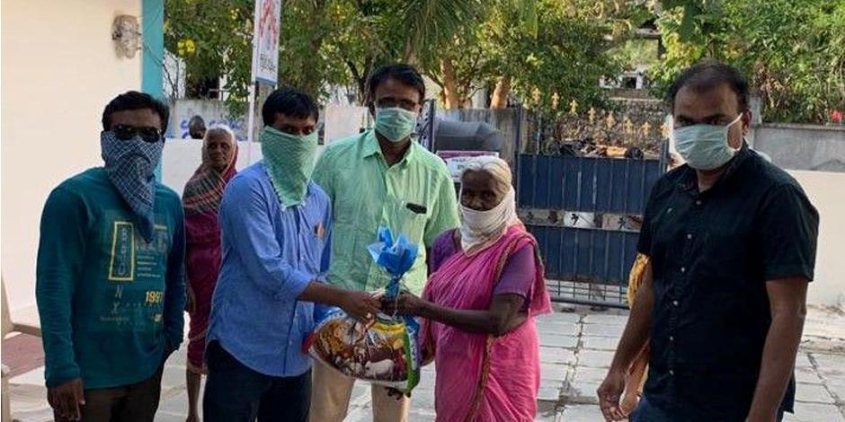 Kristna i Indien får nödhjälp genom Open Doors samarbetspartner.