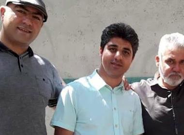 Från vänster: Milad Goodarzi, Amin Khaki och Alireza Nourmohammadi (foto: Article 18).