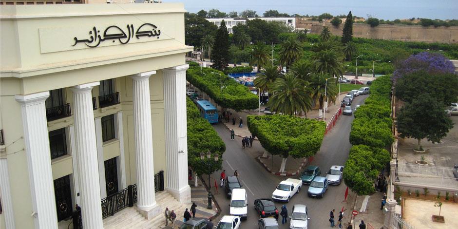 Stadsvy från Oran i norra Algeriet.