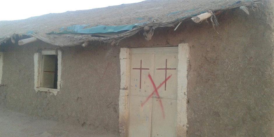 En kyrka i Khartoum, Sudans huvudstad, som tillhör Sudanese Church of Christ och som har märkts för att förstöras (kyrkan på bilden har inget samband med texten).