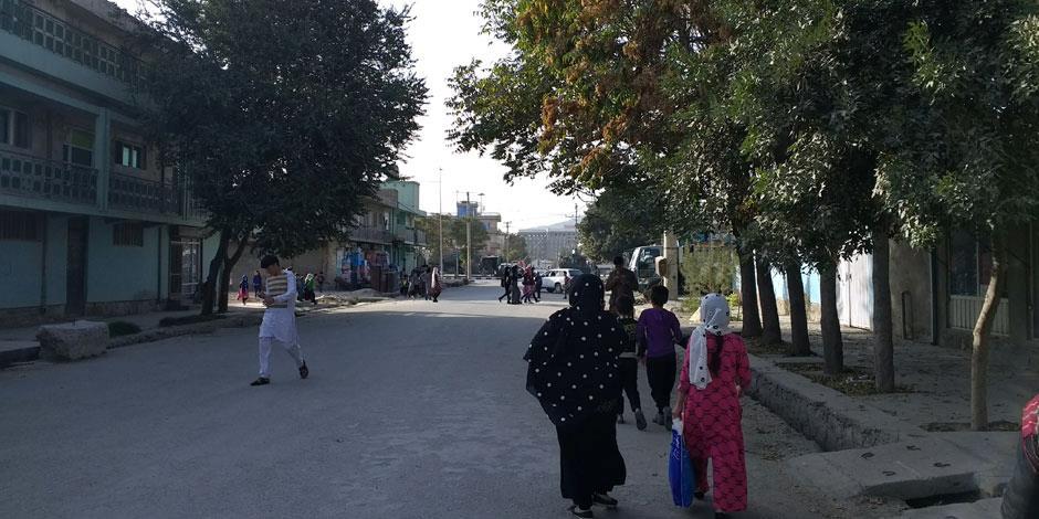 En gata i Afghanistans huvudstad Kabul.