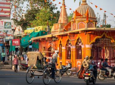 Ett hinduiskt tempel i delstaten Chhattisgarh.