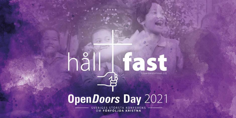 Den 13 november är det dags för Open Doors Day, en årlig konferens med fokus på förföljda kristna.