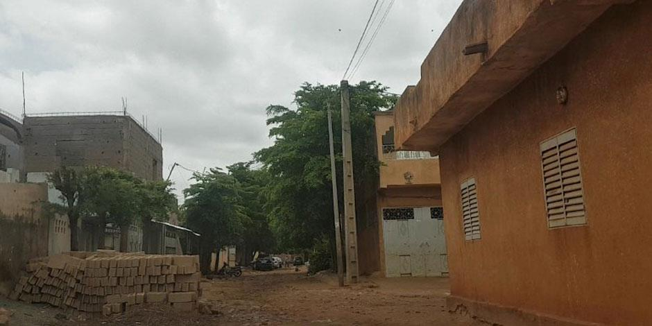 En gata i Mali.