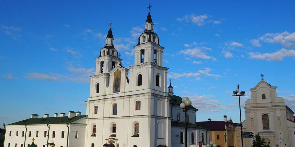 En kyrka i Belarus huvudstad Minsk (foto: Pixabay).