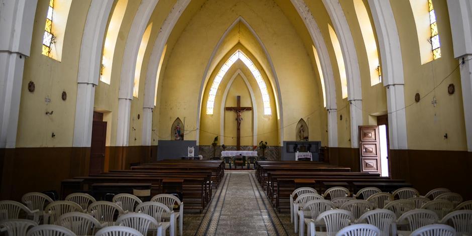 En katolsk kyrka i sydvästra Angola. Foto: jbdodane/Flickr/ CC 2.0