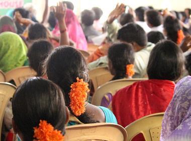 Evangelical Fellowship of India (EFI) organiserar en bönedag för Indien. Bilden har ingen koppling till texten.