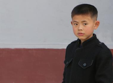 Enligt en talesperson för Open Doors riskerar läget i Nordkorea bli akut vid ett större utbrott av Covid-19. Foto: En pojke från norra Nordkoreas. Personen på bilden har ingen koppling till artikeln.