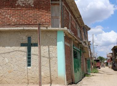 En evangelisk kyrka i staden Holguín, i östra Kuba.