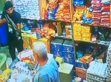 Bakhit Aziz Georgi kidnappades i sin affär den 4 augusti 2020 och är fortfarande försvunnen. Foto: CCTV