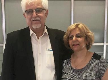 Victor Bet Tamraz och hans fru Shamiram Issavi Khabizeh har flytt landet efter att de dömts till tio respektive fem års fängelse, för sitt engagemang inom kyrkan i Iran.
