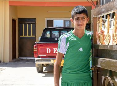 I augusti kunde Noeh och hans familj flytta tillbaka till deras nyrenoverade hem.