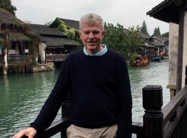 Håkan Holmsten deltog i Open Doors uppmuntringsresa där han fick möta kristna i Kina.