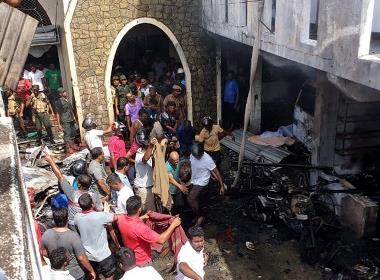 Prabas förlorade sin sjuårige son Peter i bombdådet mot Zionkyrkan i Batticaloa påskdagen 2019.