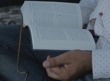 Bild från en bibelstudiegrupp i Tunisien.