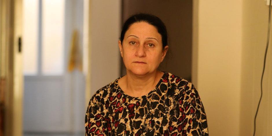 Sana såg sin man och sina båda söner föras bort av IS för sju år sedan.