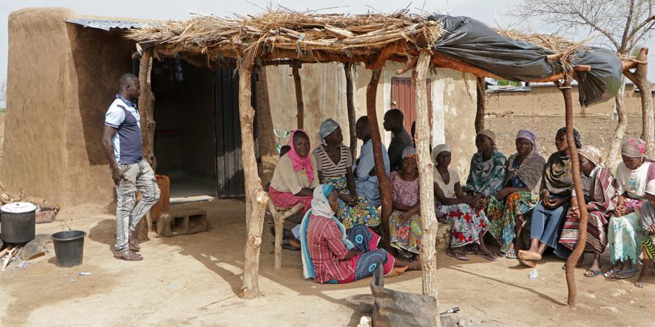 En frukostrestaurang i nordöstra Nigeria, ett område som har drabbats hårt av Boko Harams framfart. Restaurangen är en del i ett av Open Doors projekt.
